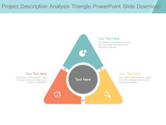 Project Description Analysis Triangle Powerpoint Slide Download