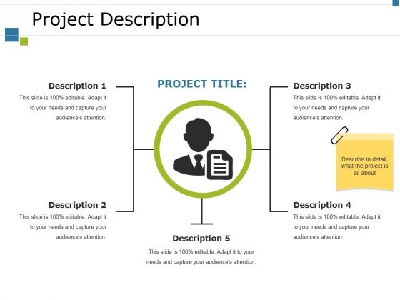 Project Description Ppt PowerPoint Presentation Gallery Graphics Template