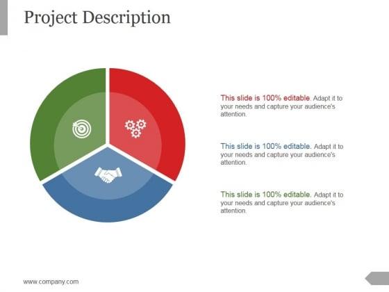 Project Description Ppt PowerPoint Presentation Graphics