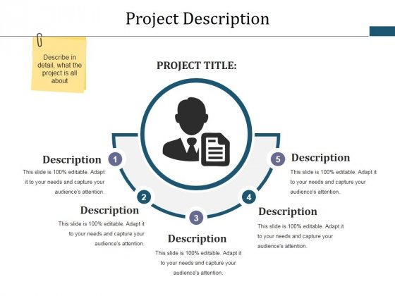 Project Description Ppt PowerPoint Presentation Infographic Template Brochure