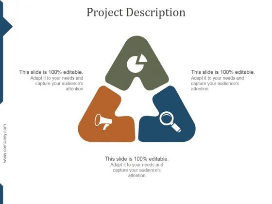 Project Description Ppt PowerPoint Presentation Layout