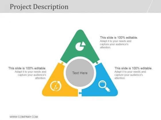 Project Description Ppt PowerPoint Presentation Picture