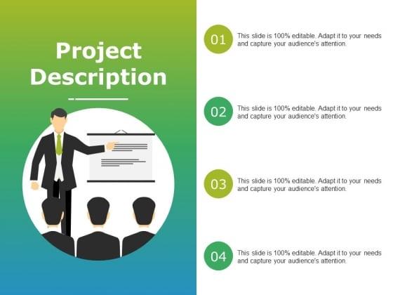 Project Description Ppt PowerPoint Presentation Professional Sample