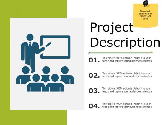 Project Description Ppt PowerPoint Presentation Slides Elements