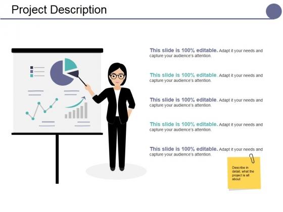 Project Description Ppt PowerPoint Presentation Visual Aids Infographic Template