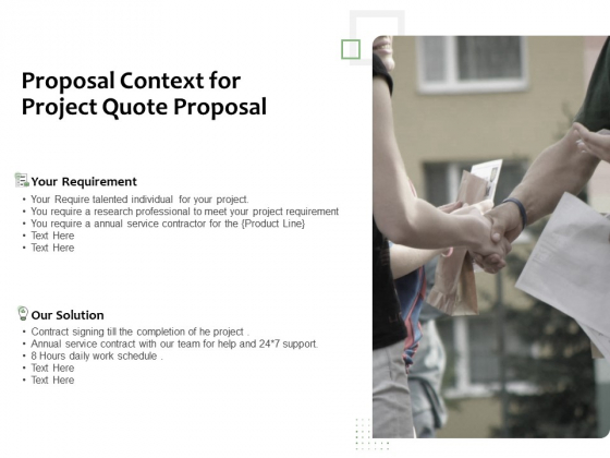 Project_Estimate_Proposal_Context_For_Project_Quote_Proposal_Ppt_Inspiration_Smartart_PDF_Slide_1