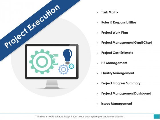 Project Execution Ppt PowerPoint Presentation Infographic Template Styles