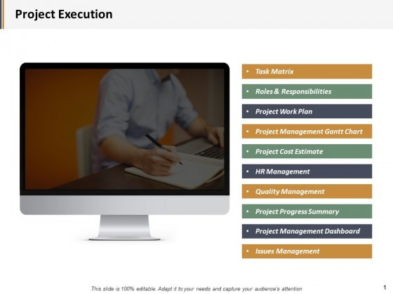 Project Execution Ppt PowerPoint Presentation Styles Example