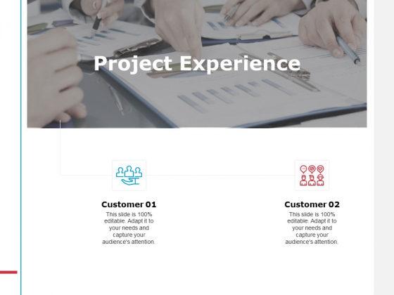 Project Experience Ppt PowerPoint Presentation Summary Demonstration