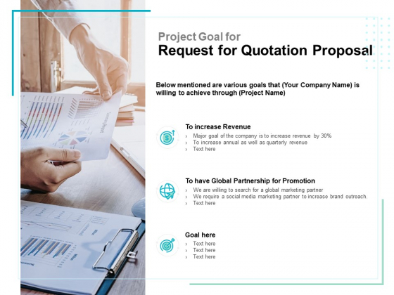 Project_Goal_For_Request_For_Quotation_Proposal_Ppt_PowerPoint_Presentation_Samples_Slide_1