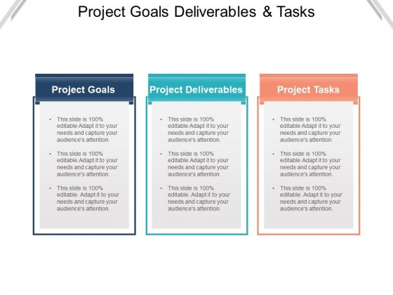 Project Goals Deliverables And Tasks Ppt PowerPoint Presentation Layouts Good
