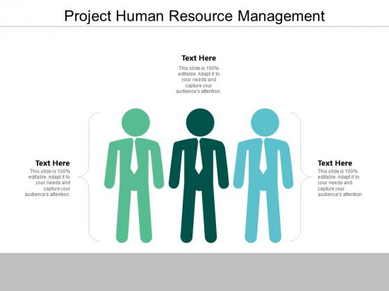 Project Human Resource Management Ppt PowerPoint Presentation Portfolio Ideas