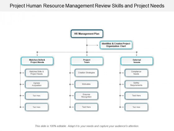 Project Human Resource Management Review Skills And Project Needs Ppt Powerpoint Presentation Pictures Slide Download