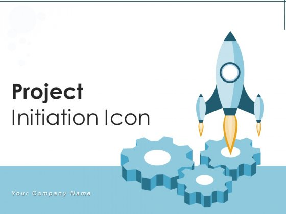 Project Initiation Icon Idea Process Ppt PowerPoint Presentation Complete Deck