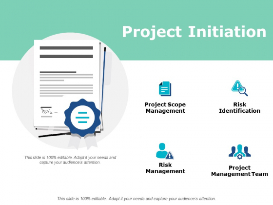 Project Initiation Ppt PowerPoint Presentation Gallery Grid