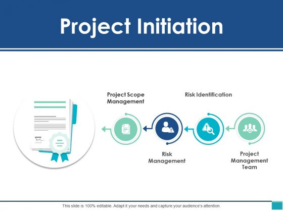 Project Initiation Ppt PowerPoint Presentation Slides Display