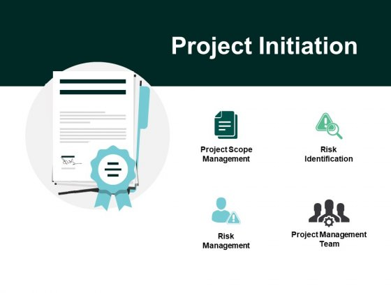 Project Initiation Risk Management Ppt PowerPoint Presentation Pictures Show