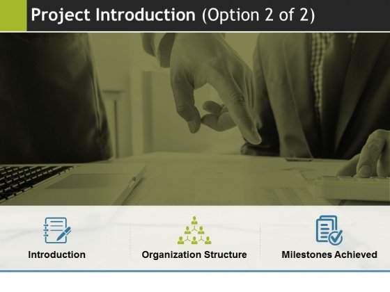 Project Introduction Template 2 Ppt PowerPoint Presentation Outline File Formats