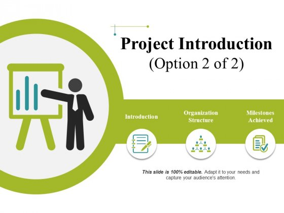 Project Introduction Template 2 Ppt PowerPoint Presentation Pictures Graphics