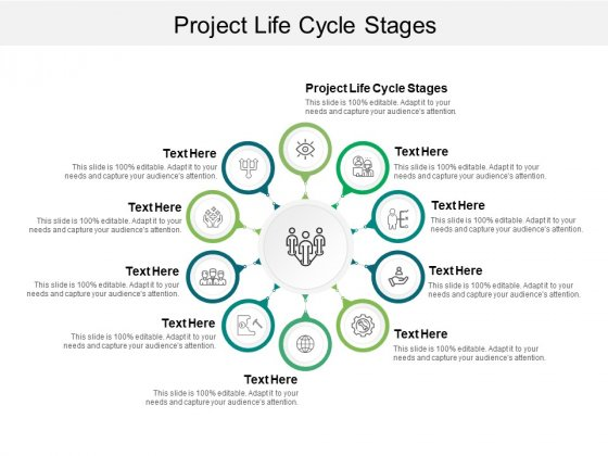 Project Life Cycle Stages Ppt PowerPoint Presentation File Tips Cpb