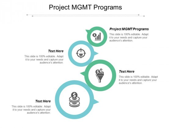 Project MGMT Programs Ppt PowerPoint Presentation Outline Graphics Cpb