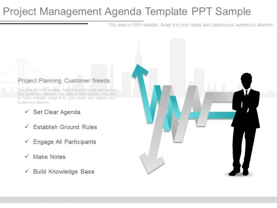 Project Management Agenda Template Ppt Sample
