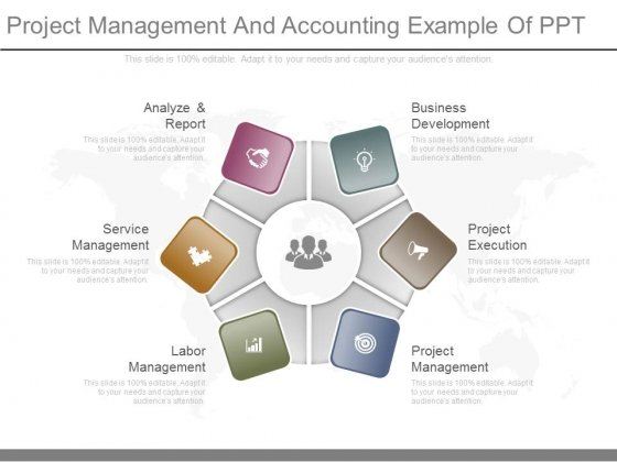 Project Management And Accounting Example Of Ppt