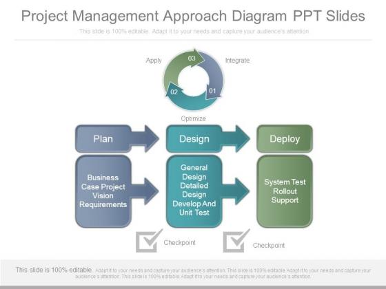Project_Management_Approach_Diagram_Ppt_Slides_1