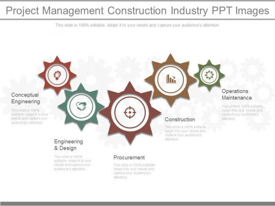 Project Management Construction Industry Ppt Images