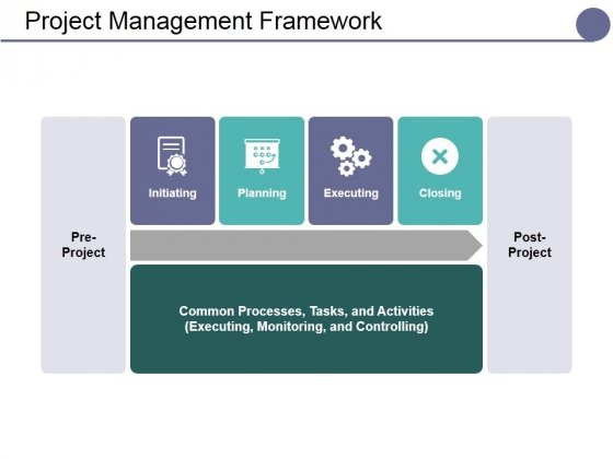 Project Management Framework Ppt PowerPoint Presentation Ideas Vector