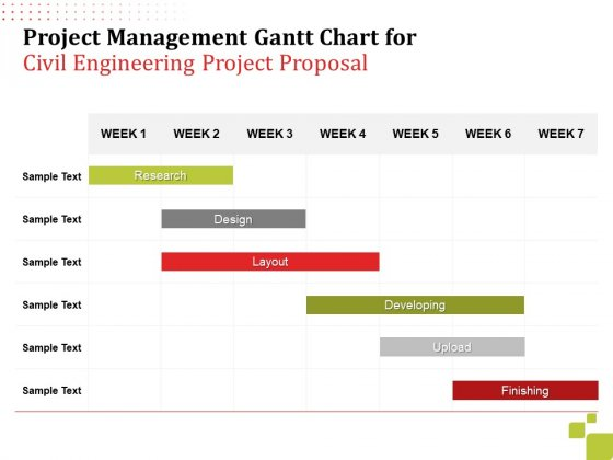 Project_Management_Gantt_Chart_For_Civil_Engineering_Project_Proposal_Ppt_Summary_Inspiration_PDF_Slide_1