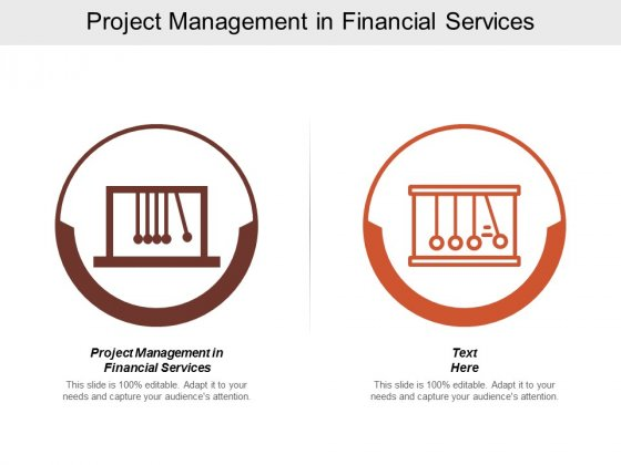 Project Management In Financial Services Ppt PowerPoint Presentation Gallery Portfolio Cpb