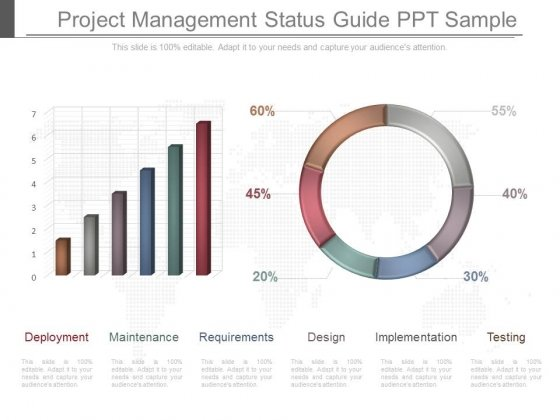 Project Management Status Guide Ppt Sample