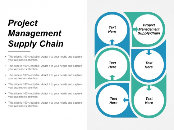 Project Management Supply Chain Ppt PowerPoint Presentation Gallery Styles
