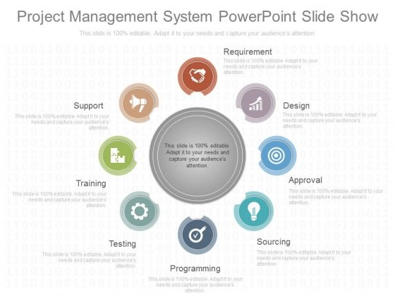 Project Management System Powerpoint Slide Show