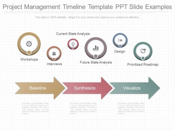 project management timeline template ppt slide examples powerpoint
