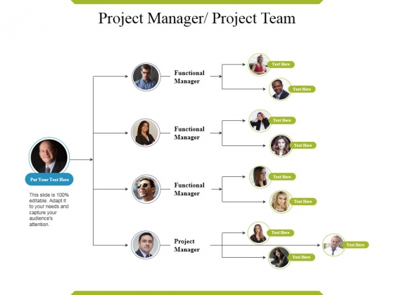 Project Manager Project Team Template Ppt PowerPoint Presentation Professional Graphic Tips