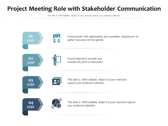 Project_Meeting_Role_With_Stakeholder_Communication_Ppt_PowerPoint_Presentation_File_Model_PDF_Slide_1