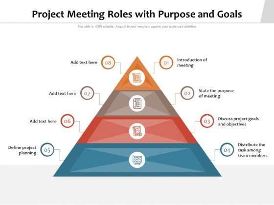 Project_Meeting_Roles_With_Purpose_And_Goals_Ppt_PowerPoint_Presentation_File_Designs_PDF_Slide_1
