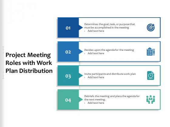 Project_Meeting_Roles_With_Work_Plan_Distribution_Ppt_PowerPoint_Presentation_Gallery_Design_Inspiration_PDF_Slide_1