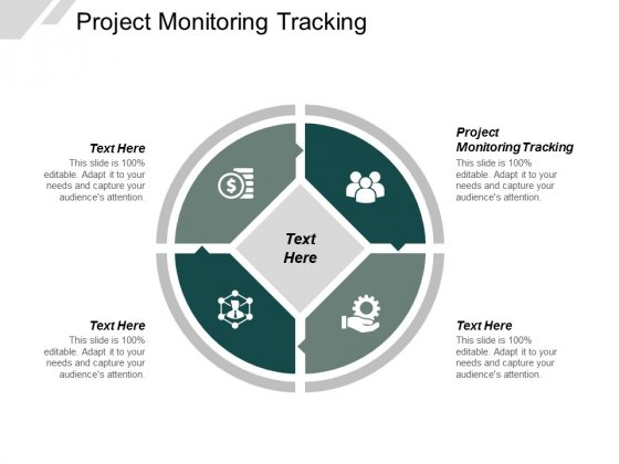 Project Monitoring Tracking Ppt PowerPoint Presentation Outline Good Cpb