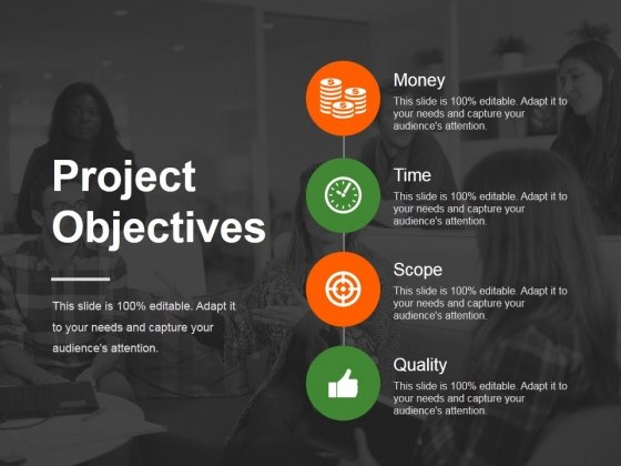 Project Objectives Template 1 Ppt PowerPoint Presentation Styles