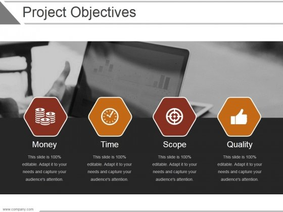 Project Objectives Template 3 Ppt PowerPoint Presentation Inspiration
