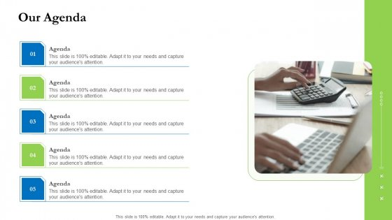 Project Performance Metrics Our Agenda Ppt Inspiration PDF
