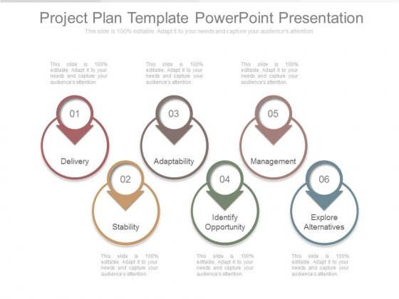 Project Plan Template Powerpoint Presentation