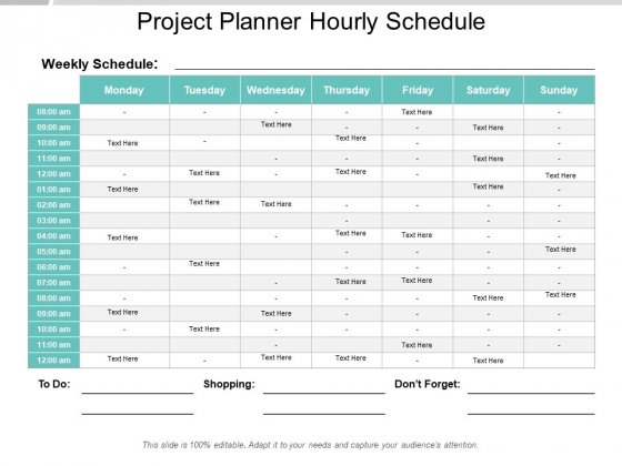 Schedule PowerPoint templates, Slides and Graphics