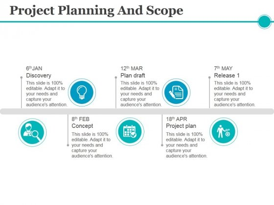 project planning and scope ppt powerpoint presentation ideas aids