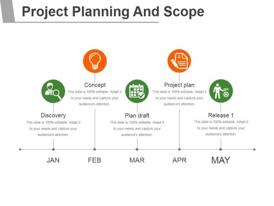 project planning and scope ppt powerpoint presentation introduction