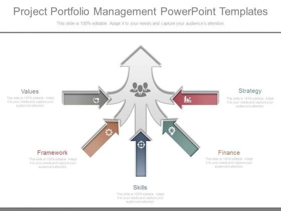 Project Portfolio Management Powerpoint Templates