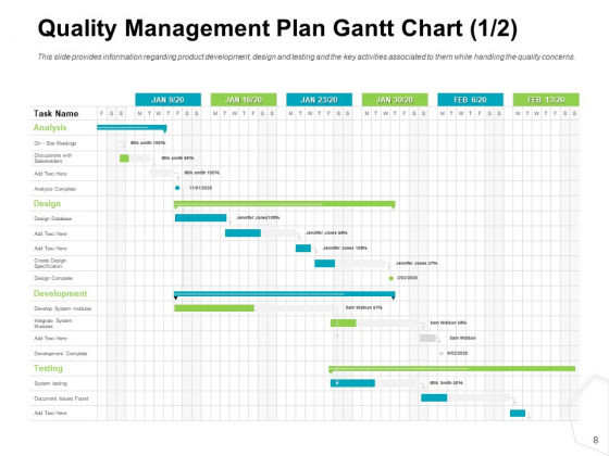Project_Quality_Management_Plan_Ppt_PowerPoint_Presentation_Complete_Deck_With_Slides_Slide_8